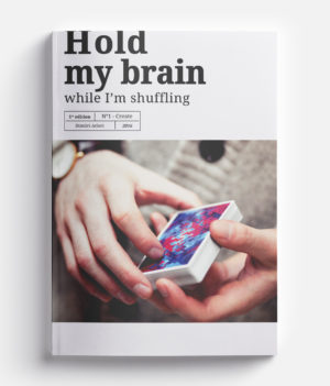 Cardistry Book - Hold my Brain - cover