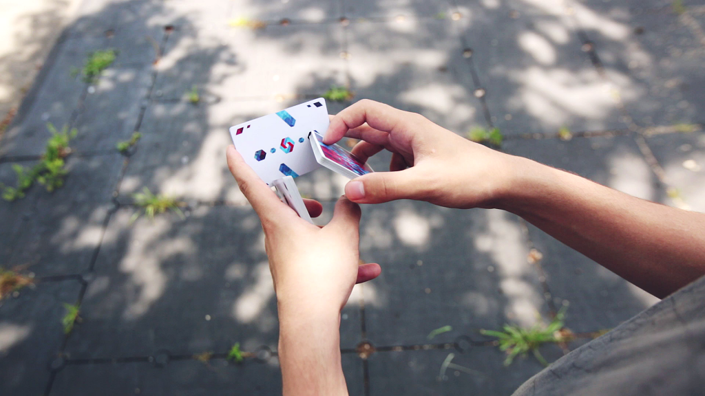 Cardistry Tutorial - GOD LP - gallery - funnel pov