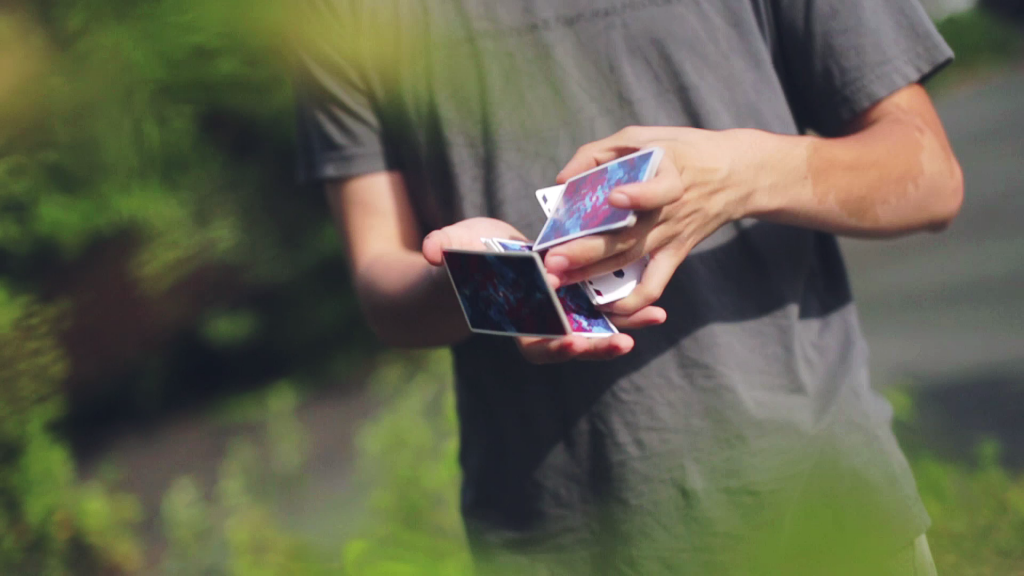 Cardistry Tutorial - GOD LP - gallery - kung-fu