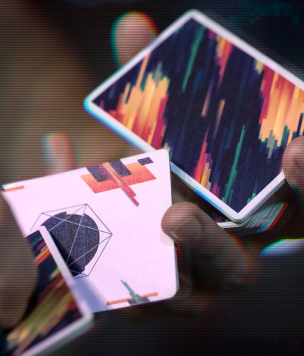 Pulse Cardistry Cards - close up