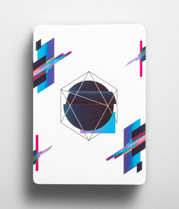 Cardistry Cards Packshot - Pulse Blue - front
