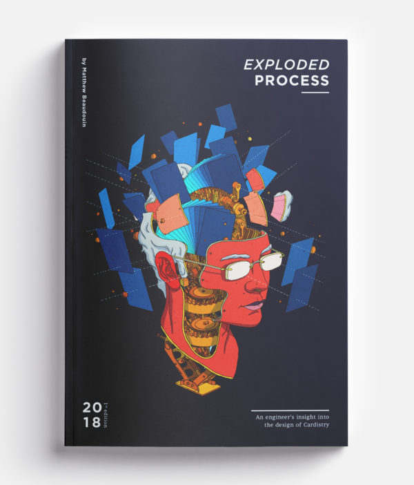 Cardistry Book - Exploded Process - cover