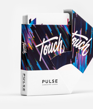 Cardistry Cards thumbnail - Pulse Blue - Swivel box open