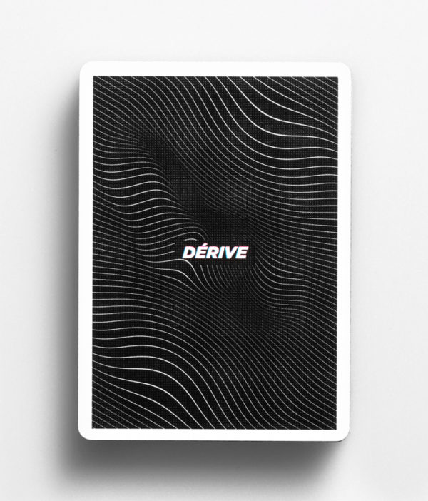 Cardistry Cards Packshot - Dérive - Back