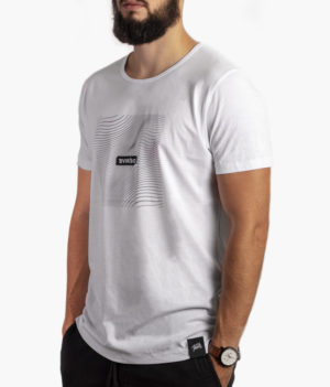 Cardistry Apparel - Dérive White T-Shirt - Main