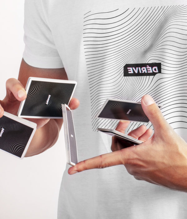 Cardistry Apparel - Dérive White T-Shirt - Sybil