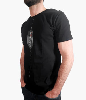 Cardistry Apparel - ESCP_THIS Black T-Shirt - Main