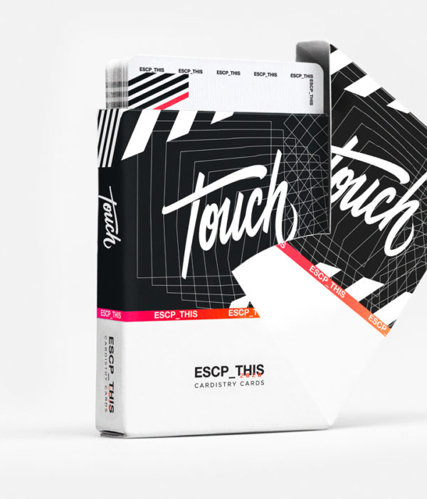 Cardistry Cards Packshot - ESCP_THIS - Swivel box open