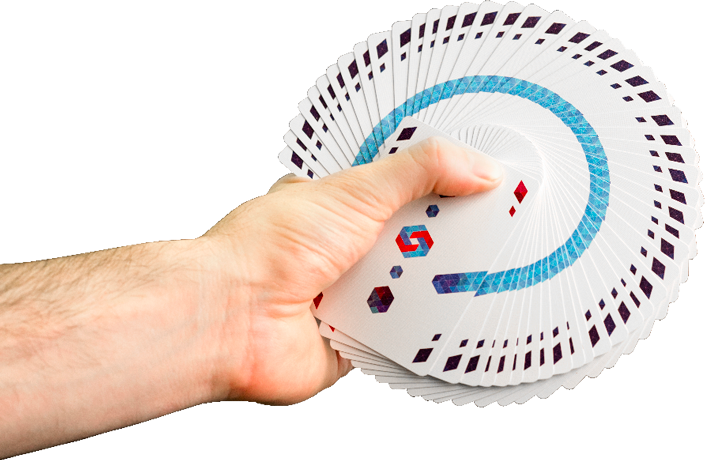 Origin Cardistry Cards - Thumb fan