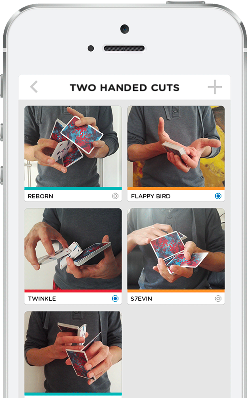 My Shuffle Cardistry Assistant - Two Handed Cuts